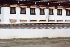 Tibet Window Royalty Free Stock Images