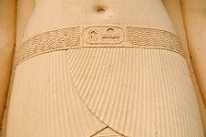 Free Pharaoh Sculpture Stock Photography - 6639692