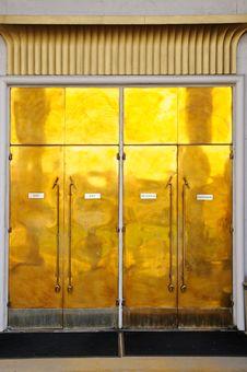 Free Crafty Golden Door Royalty Free Stock Photos - 6639728