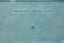 Free Irrigation Control Valve Hatchway Royalty Free Stock Photo - 6639865