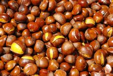 Free Stir-fry Chestnut With Sugar Royalty Free Stock Image - 6639906