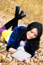 Free Pretty Student In The Park Stock Images - 6644214