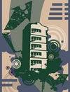 Free Urban Grunge Background Stock Photos - 6646763