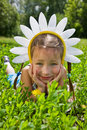 Free Hat Of Camomiles Stock Photography - 6647982