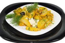Free Boiled Potato On The House Royalty Free Stock Photos - 6640038
