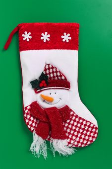 Free Christmas Stocking Stock Photography - 6640562