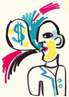 Mr.money Stock Photo