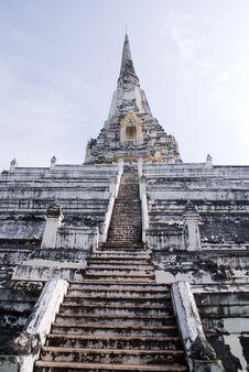 Religious Thai Monument Royalty Free Stock Image