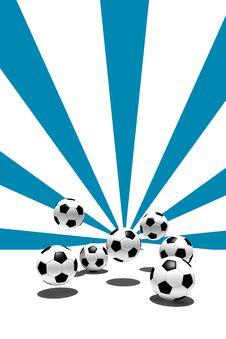 Free Soccer Balls Royalty Free Stock Photos - 6640808