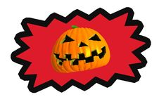 Free Halloween Pumpkin Royalty Free Stock Photo - 6640815