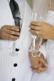 Free Wedding Toast Royalty Free Stock Photos - 6641668