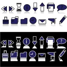Free Icon Sets Stock Images - 6641794