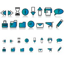 Free High Quality Web Icons Royalty Free Stock Photos - 6641918