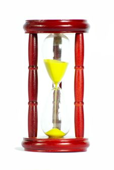 Sand Clock Royalty Free Stock Image