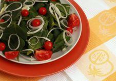 Free Salad Closeup Royalty Free Stock Photos - 6642838