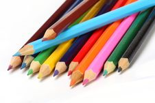Free Color Pencils Royalty Free Stock Images - 6643279