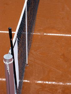 Free Tennis Court Top 2 Royalty Free Stock Image - 6643476