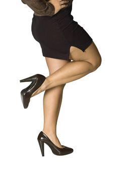 Sexy Female Legs Royalty Free Stock Photos