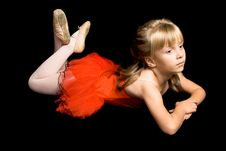 Free Tiny Ballerina Royalty Free Stock Image - 6643876