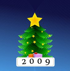 Free Christmas Tree Royalty Free Stock Photography - 6644297