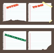 Free Lined Paper Royalty Free Stock Images - 6644789
