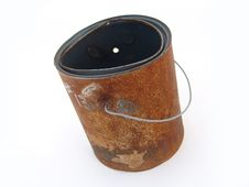 Free Rusty Paint Can Stock Images - 6644804