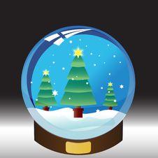 Free Snowglobe Royalty Free Stock Photos - 6645098