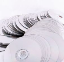 Free Cd Dvd Discs Royalty Free Stock Photo - 6645475