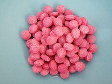 Free Pink Pills Royalty Free Stock Image - 6646246