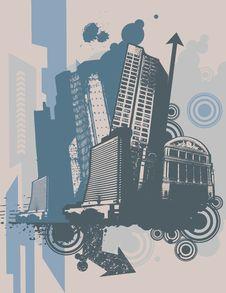 Free Urban Grunge Background Royalty Free Stock Photo - 6646835