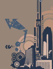 Free Urban Grunge Background Stock Photography - 6646842