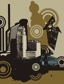 Free Urban Grunge Background Royalty Free Stock Photos - 6646848