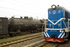 Free Locomotive Royalty Free Stock Image - 6646856