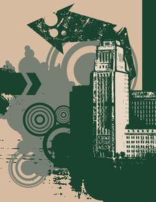 Free Urban Grunge Background Stock Photography - 6646862