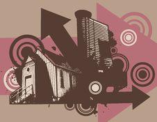 Free Urban Grunge Background Stock Photography - 6646872