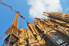 Free Sagrada Familia Royalty Free Stock Photography - 6646937