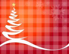 Free Christmas Tree Vector Royalty Free Stock Photos - 6646998