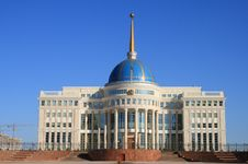 Free Palace Oа President. Astana Royalty Free Stock Photos - 6647218