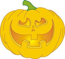 Free Halloween Pumpkin Royalty Free Stock Images - 6647479