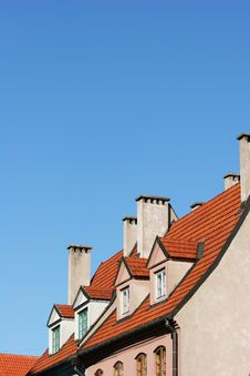 Free Roofs Royalty Free Stock Photography - 6647777
