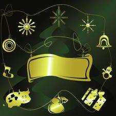 Free Christmas Background Royalty Free Stock Images - 6647849