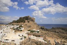 Free Lindos Vacation Destination Royalty Free Stock Image - 6647856