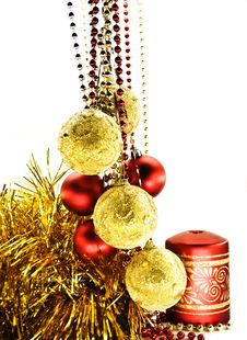 Free Christmas-tree Decorations Stock Photo - 6648620