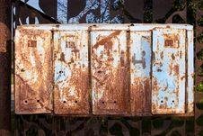 Free Old Rusty Mailboxes Stock Images - 6648664