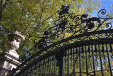 Free Bronze Fence Stock Photography - 6648812