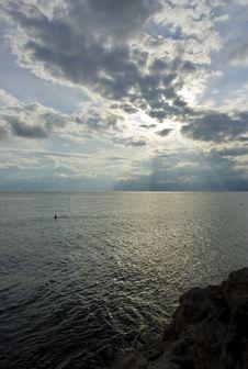 Free Adriatic Sea Scene, Croatia Royalty Free Stock Image - 6649036