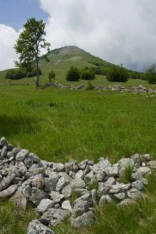Free Mountain Landscape Scene, Croatia Royalty Free Stock Image - 6649046