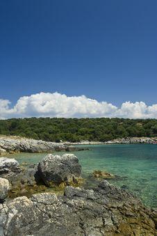 Free Adriatic Sea Beach, Croatia Royalty Free Stock Photography - 6649177