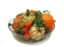 Pumpkins Arrangement Royalty Free Stock Image