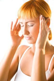 Free Terrible Headache Stock Photo - 6649450